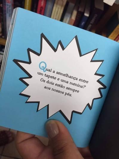 piada do livro